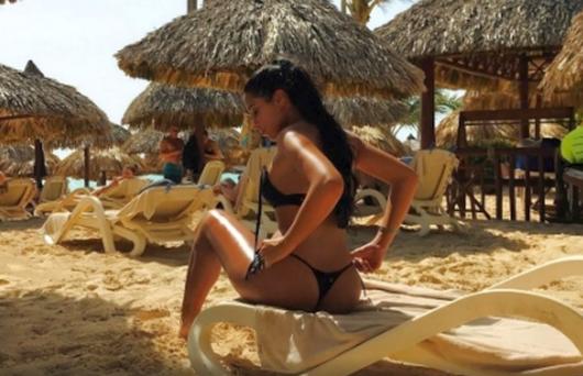 Dinamo a transferat si cea mai sexy iubita de fotbalist ;) Cum arata prietena nou-sositului Salomao. GALERIE FOTO