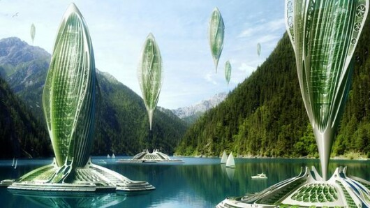 Neil Spiller, orasele viitorului, 2050