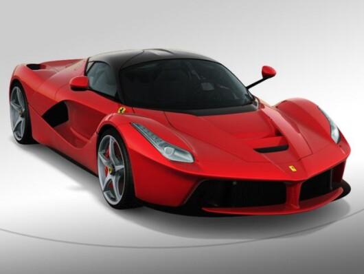 Ferrari LaFerrari Rosso Corsa