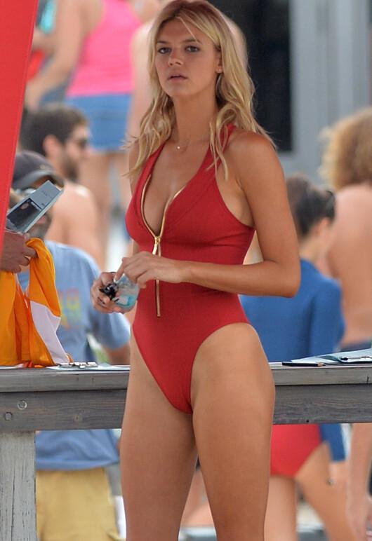 Primele imagini de pe platou cu DIVA care va aparea in Baywatch! Cum arata fosta iubita a lui DiCaprio
