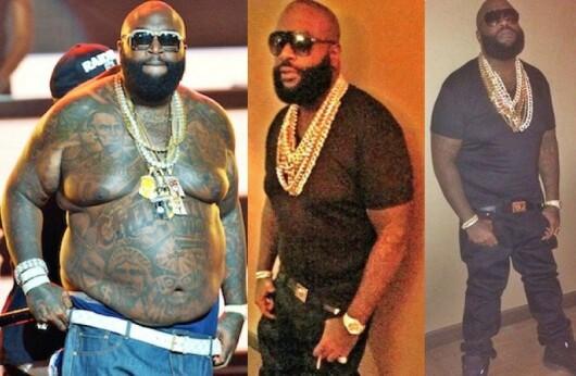 Transformarea uimitoare a lui Rick Ross. Celebrul rapper a pierdut 50 de kilograme si e