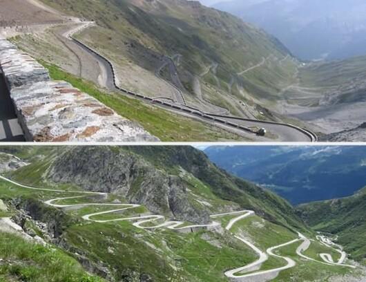 Selvio Pass, Italia