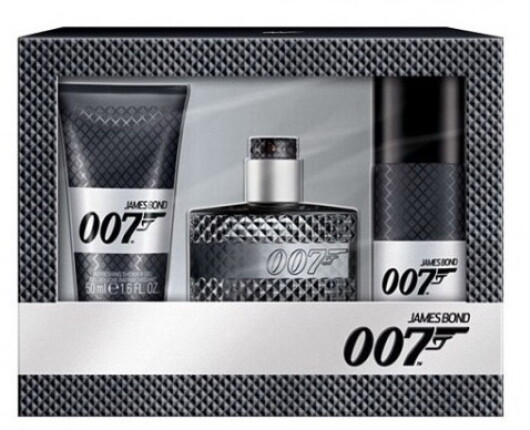 SET James Bond 007 James Bond 007 Eau de Toilette Edt 30ml + 50ml Shower gel + 50ml Deodorant 30ml