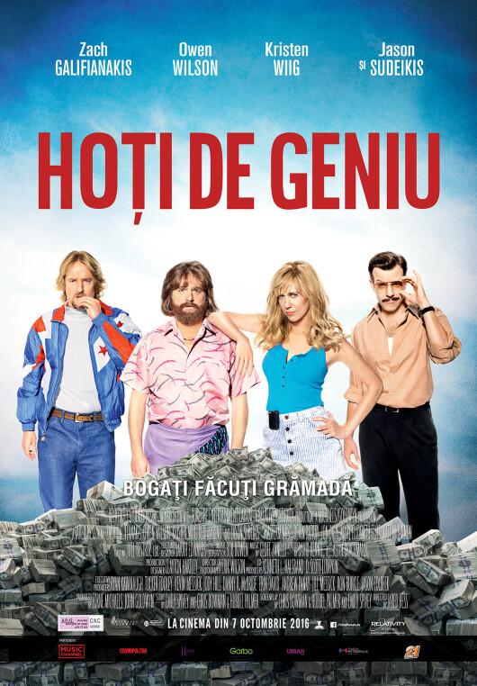 """""""Masterminds / Hoti de geniu"""" – o comedie neagra despre unul dintre cele mai mari jafuri din istoria Americii"""