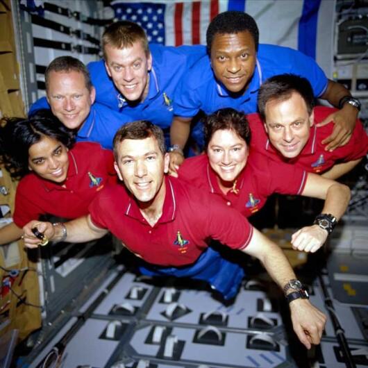 echipajul navetei Columbia