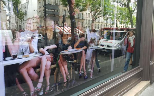 Vitrina digitala Paris