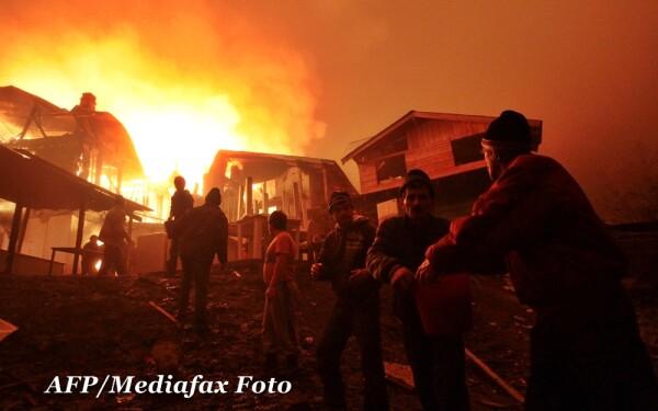 Incendiu Valea Plopului
