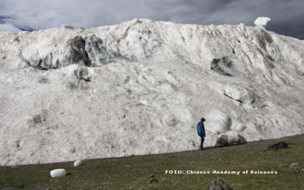 avalansa in Tibet
