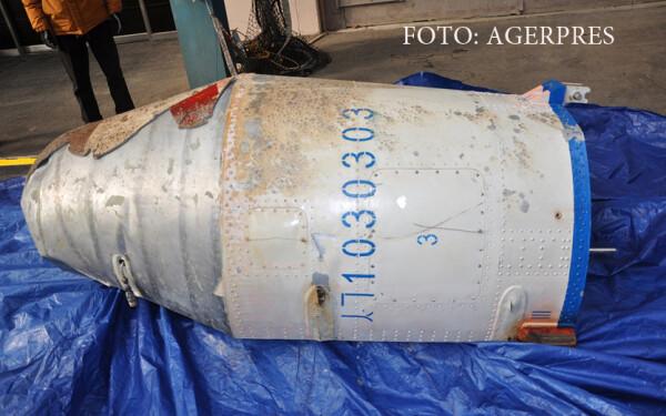 bucata din racheta nord-coreeana