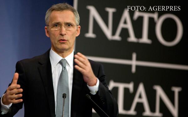 secretarul general al NATO, Jens Stoltenberg