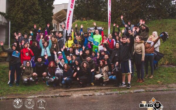 Cros caritabil pe trepte in Cluj-Napoca. Beard Brothers organizeaza a doua editie a evenimentului The Beard Run