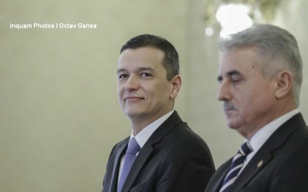 Sorin Grindeanu si Viorel Stefan