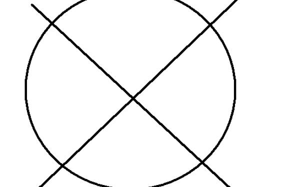 simbol, cerc