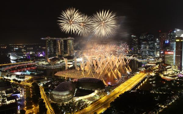 anul nou Singapore