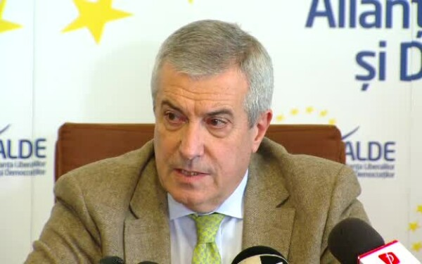 Calin Popescu Tariceanu, ALDE