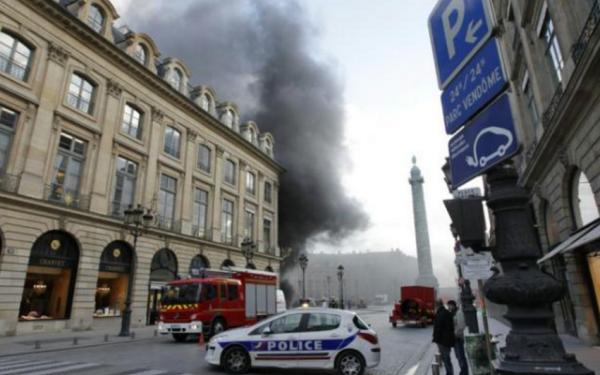incendiu Ritz