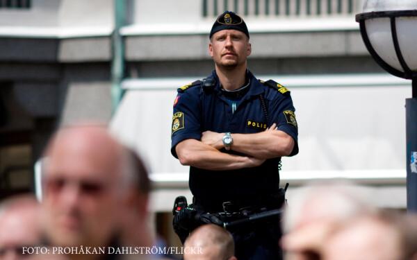 politist suedez