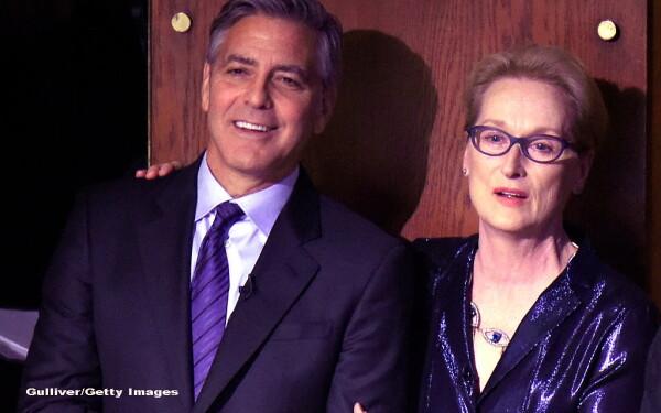 George Clooney, Meryl Streep