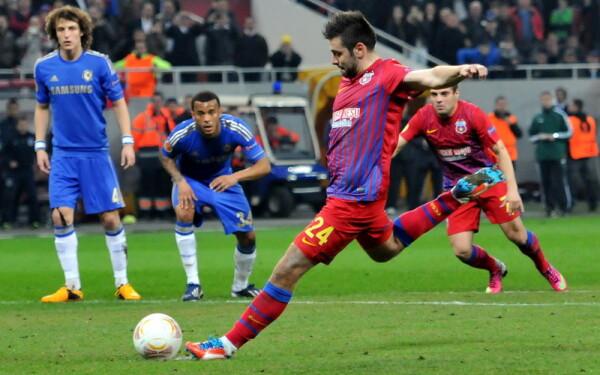 Formatia Steaua a invins, joi, pe Arena Nationala, cu scorul de 1-0 (1 ...