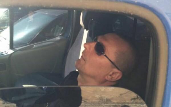Politist care doarme, foto Adevarul