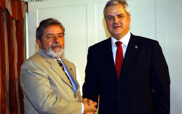 Lula da Silva si Adrian nastase