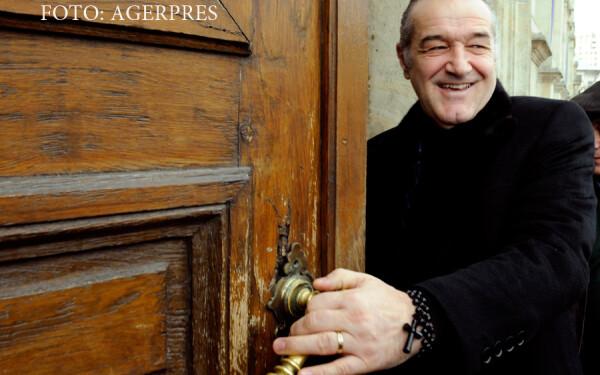 Gigi Becali se prezinta la Curtea de Apel Bucuresti