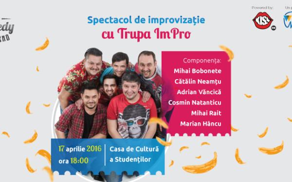 Comedy Weekend - Show inedit de improvizatie la Cluj-Napoca
