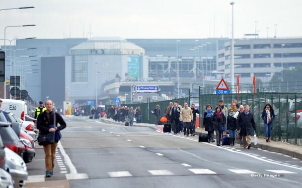 aeroport Bruxelles - getty