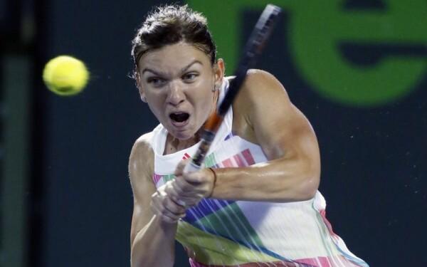 Simona Halep la turneul de la Miami