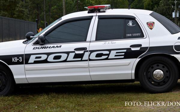 masina de politie din statul Carolina de Nord