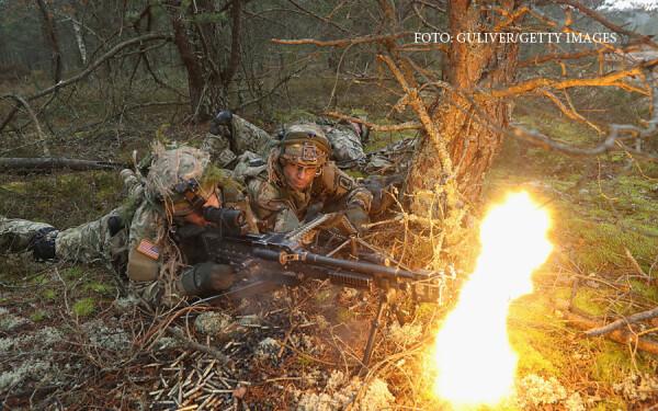 exercitiu militar american in tarile baltice