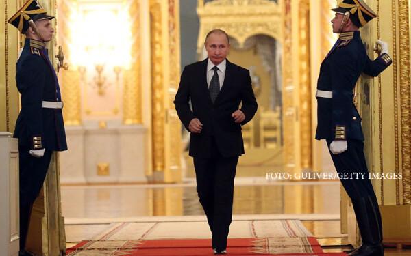 Vladimir Putin la Kremlin