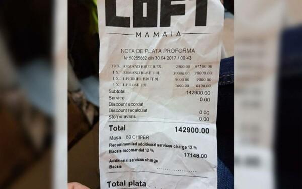 mamaia, nota de plata, loft