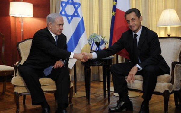 Benjamin Netanyahu si Nicolas Sarkozy