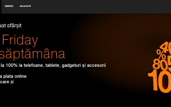 orange black friday 2013 reduceri. Black Bedroom Furniture Sets. Home Design Ideas