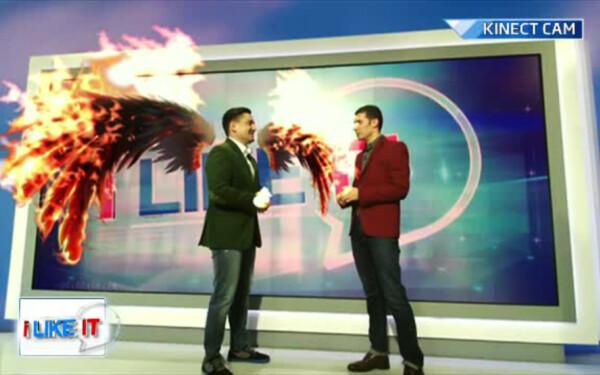 George Buhnici cu aripi de foc