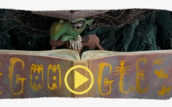 Halloween, Google Doodle