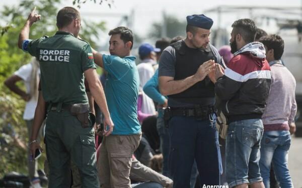 imigranti politie
