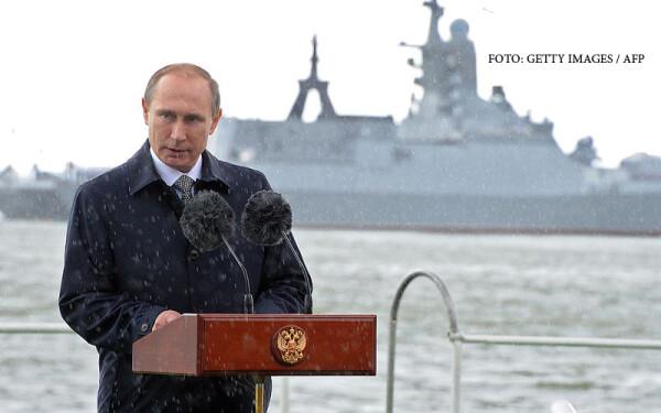 Vladimir Putin la Kaliningrad