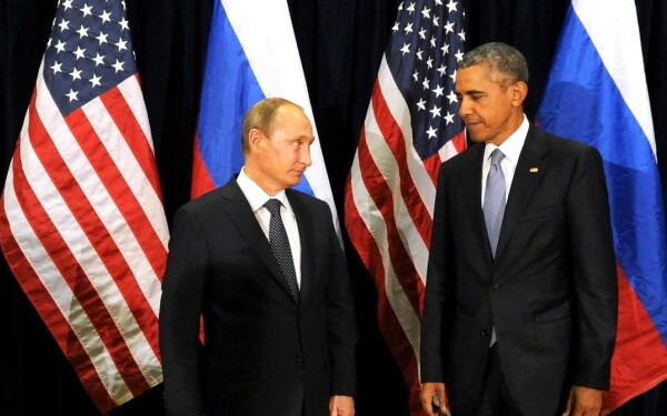 Barack Obama, Vladimir Putin - cover GETTY