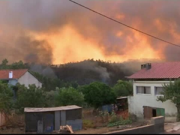 incendiu Portugalia