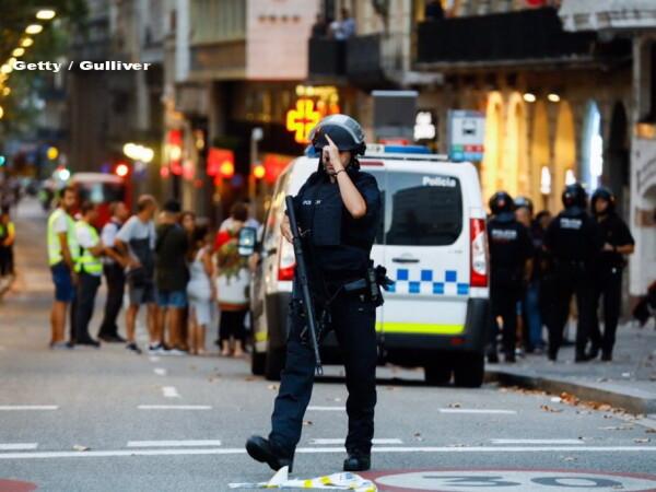 politist in Barcelona