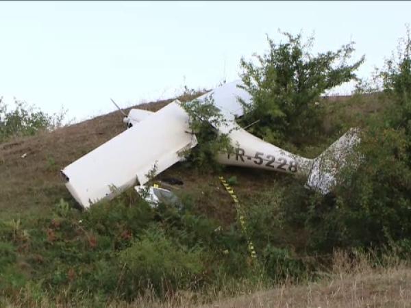 avion prăbuțit în Iași
