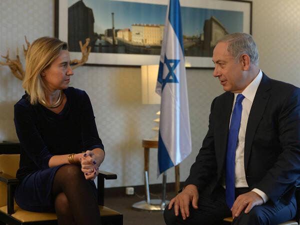 Mogherini si Netanyahu