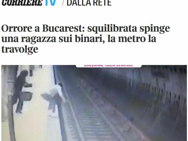 crima, metrou, presa straina,