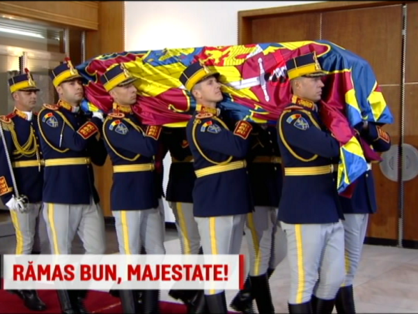 funeralii regele mihai, gara regala baneasa, trenul regal,
