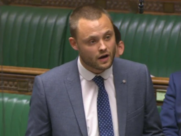 Ben Bradley in Parlament