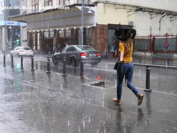 Ploaie, furtuna