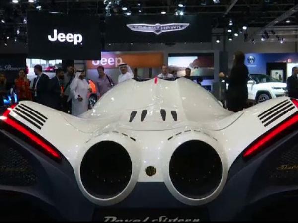 Salonul Auto din Dubai