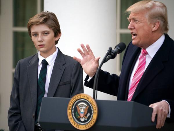Donald Trump Barron Trump